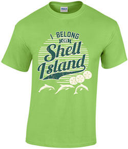 Order a Friends of Shell Island T-shirt!
